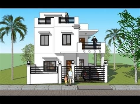 House Plan With Roofdeck House Plans India House Plans