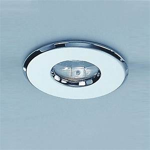 Franklite rf ip chrome single light recessed downlight