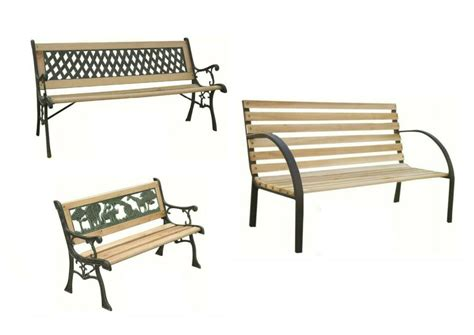 Wooden Decorative Bench by Garden Bench Seat Outdoor Seating Decorative Cast Iron