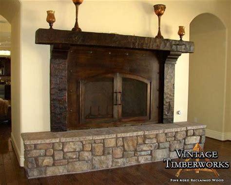 Fireplace Mantel Legs - hewn mantel corbels legs pits wood stoves