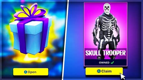 skin gifting system  fortnite previews