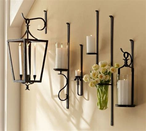 candle wall sconces ideas  pinterest wall