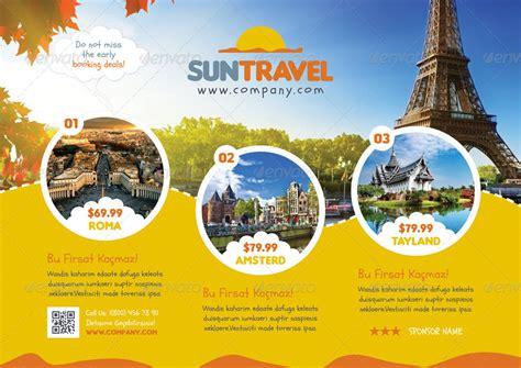 travel  flyer templates  grafilker graphicriver