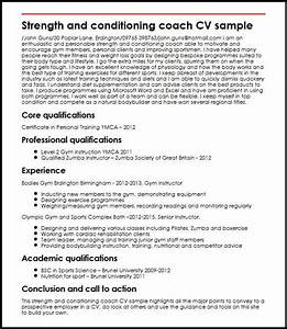 cover letter for strength and conditioning coach - search results for example of good cv calendar 2015
