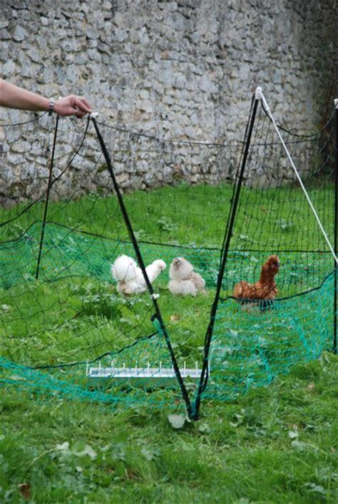 filet enclos pour poules 21 metres animaloo