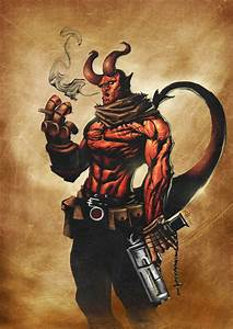 Hellboy | Comic Book Heroes | Pinterest
