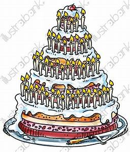 Dessin Gateau D Anniversaire : g teau d 39 anniversaire illustration biscuit p tisserie ~ Louise-bijoux.com Idées de Décoration