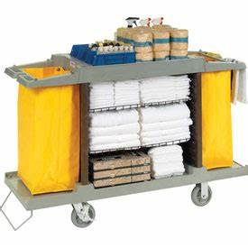Janitorial Cleaning Carts Housekeeping Hotel
