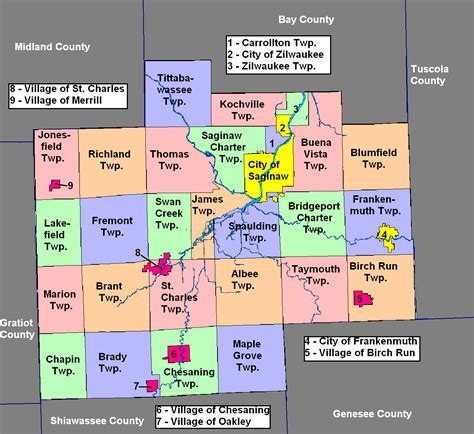 Geological survey) publishes a set of topographic maps of the u.s. Saginaw County, Michigan   Familypedia   FANDOM powered by ...