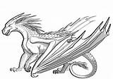 Dragon Coloring Pages Printable Adults Easy Craft Mythical sketch template