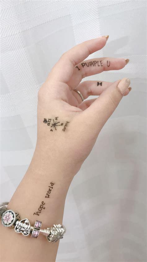 army bts tattoos jimin jhope tatuajes tatuajes