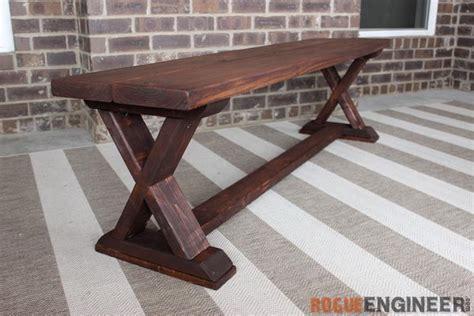 creative outdoor bench diy ideas  tutorials