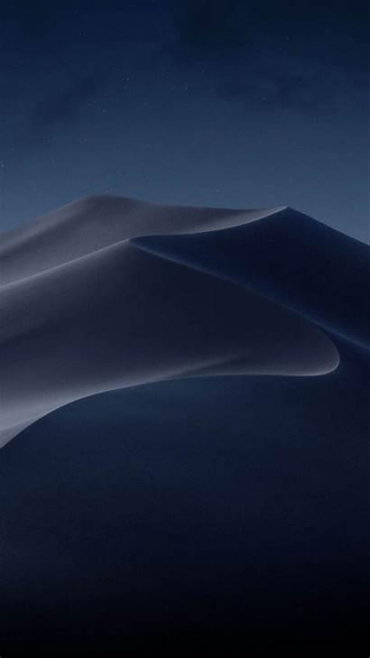 Mojave 4k Macos Desert Night Apple Wallpapers