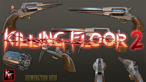 killing floor 2 guns killing floor 2 gunslinger perk weapons youtube