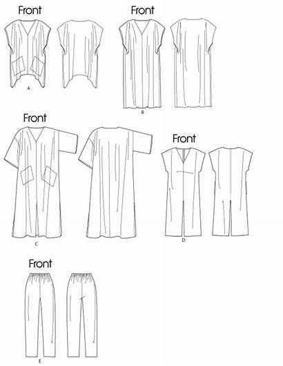 Sewing Patterns Butterick Caftan Pattern Pants Kaftan