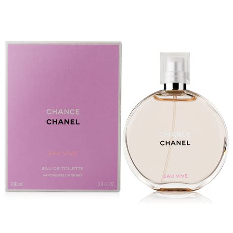 chanel chance eau vive eau de toilette 100ml s of kensington