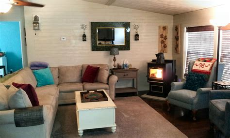 Living Room Makeover by Mobile Home Living Room Remodel The Finale My Mobile