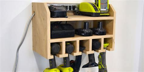 how to make a l cordless how to build a storage dock for your cordless drill power