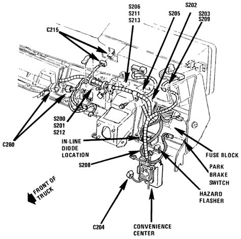 88 Chevy Berettum Fuse Box Diagram by 1988 3500 Chevy Pu No Rear Lights Could It Be A Fuse