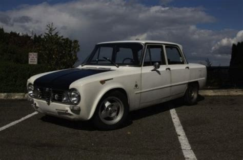 Scrappy 1965 Alfa Romeo Giulia Ti For Cheap