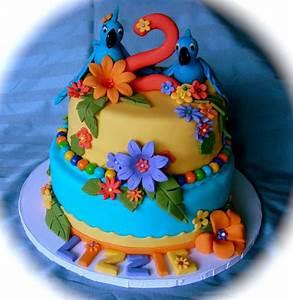 Southern Blue Celebrations: More Rio / Rio2 Cake Ideas