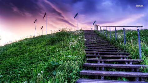 stairs wallpaper  background image  id