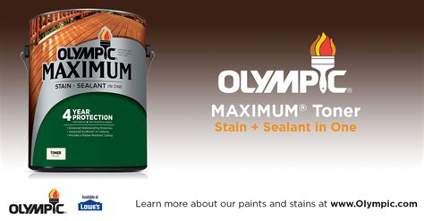 Olympic Maximum Stain Sealant In One Semi Transparent