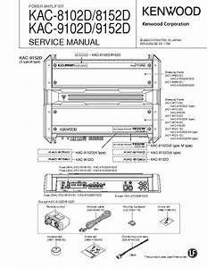 Kenwood 9105d Wiring Diagram Bridged