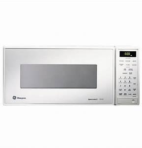 Ge Monogram U00ae White Compact Microwave Oven With Sensor