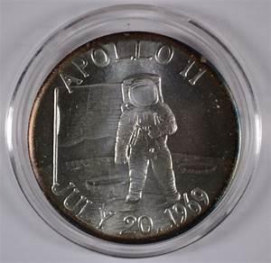 APOLLO 11 30th ANNIVERSARY MFA FLOWN METAL MOON EAGLE NASA ...
