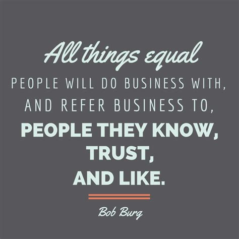 business quotes about trust