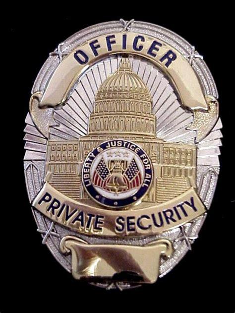 collectors badges security badges