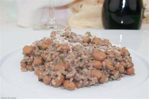 Cucinare I Fagioli Borlotti by Risotto Con I Fagioli Borlotti Ricette Di Cucina