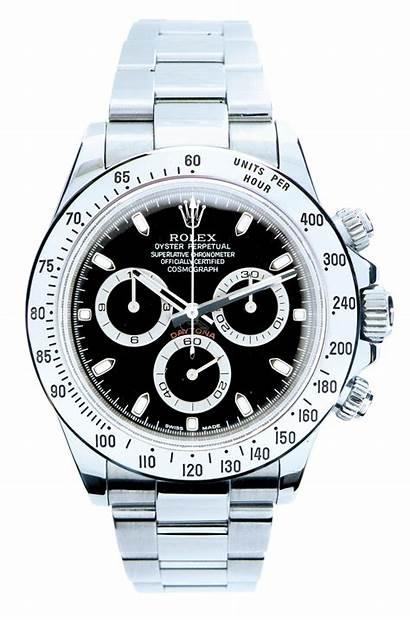 Rolex Daytona Clock Wrist Watches Silver Band