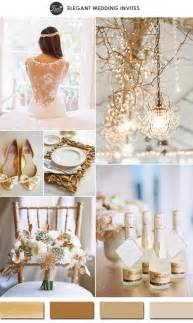 vintage wedding colors 10 gold wedding color ideas 2016 wedding trends part two