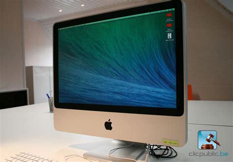 imac bureau ordinateur de bureau apple imac 20 quot ref 74 à vendre