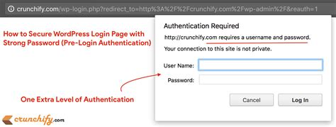 How To Secure Wordpress Login Page (wp-admin) With