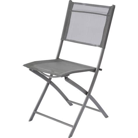 chaise pliante leroy merlin chaise de jardin en acier denver gris leroy merlin
