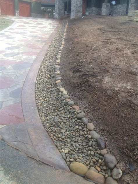 concrete driveway drainage 8 best images about driveway solutions on pinterest other traditional landscape and gravel