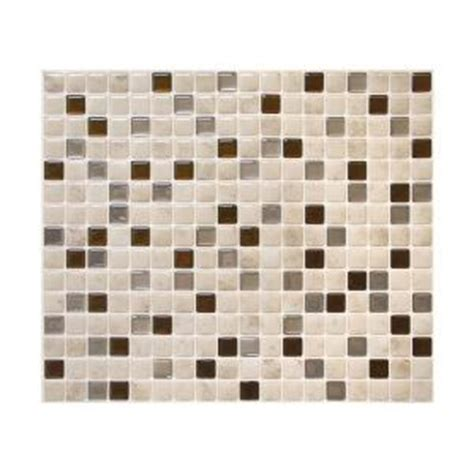 smart tiles minimo cantera 9 64 in x 11 55 in peel and