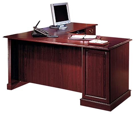 l shaped desk accessories bush saratoga l shape executive desk with bookcase and