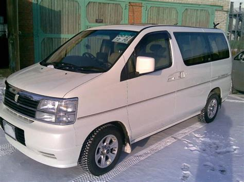 Nissan Elgrand Image by Used 2000 Nissan Elgrand Images