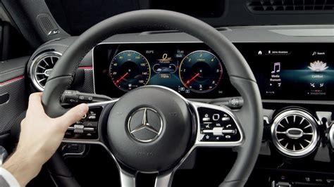 mercedes benz  class mbux interior features