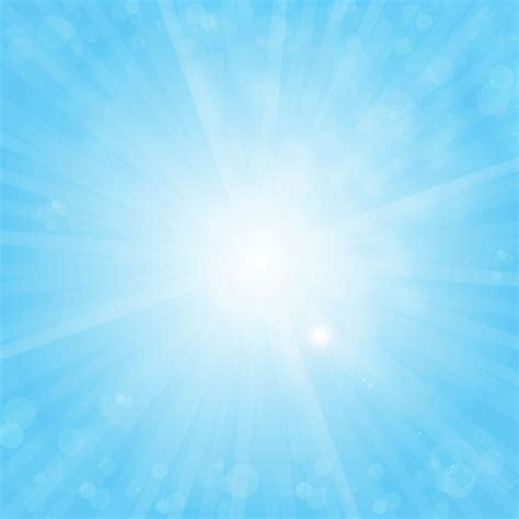 blue sky design sun on blue sky vector background free vector graphics