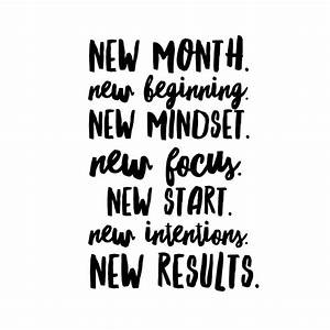 new month. new ... New Targets Quotes