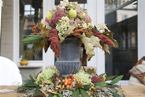how to decorate a table for fall beautiful centerpiece as fall decoration on outdoor table