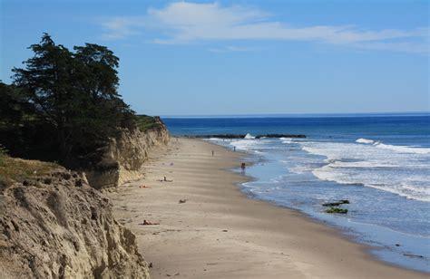 depressions beach isla vista ca california beaches