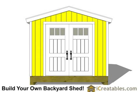 10x14 large shed plans