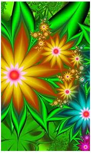 Colorful Flower Abstract HD Wallpaper   Background Image ...