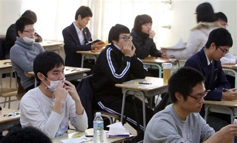 South Korean High School Students Sleep Less Than 6 Hours